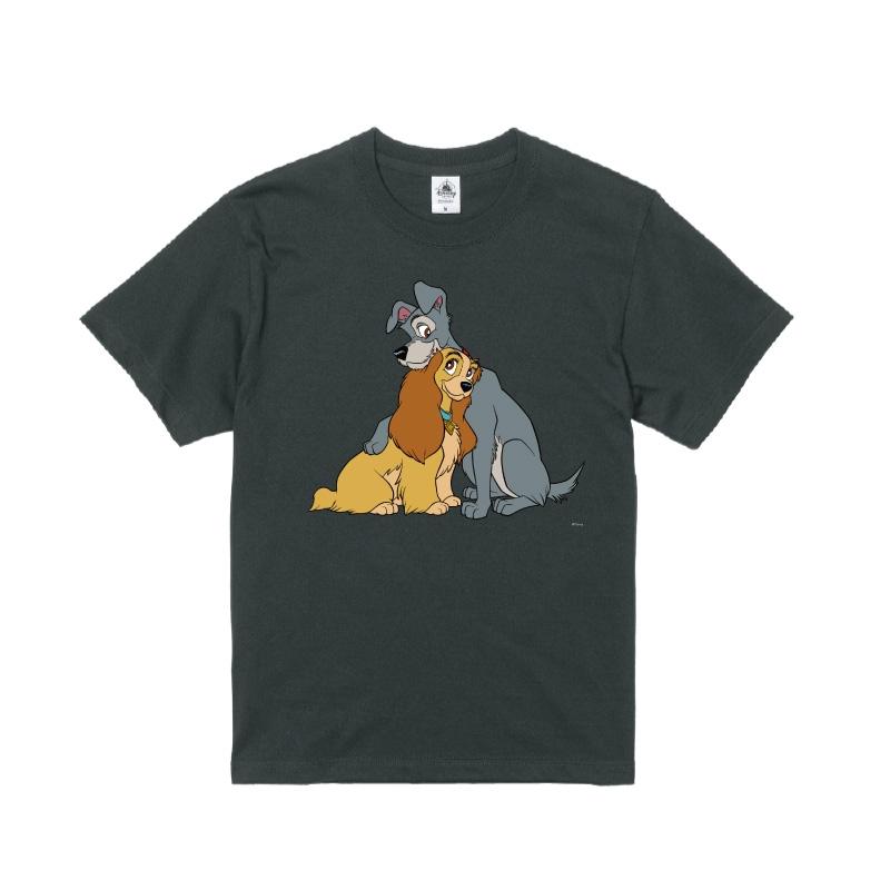 【D-Made】Tシャツ わんわん物語 レディ&トランプ
