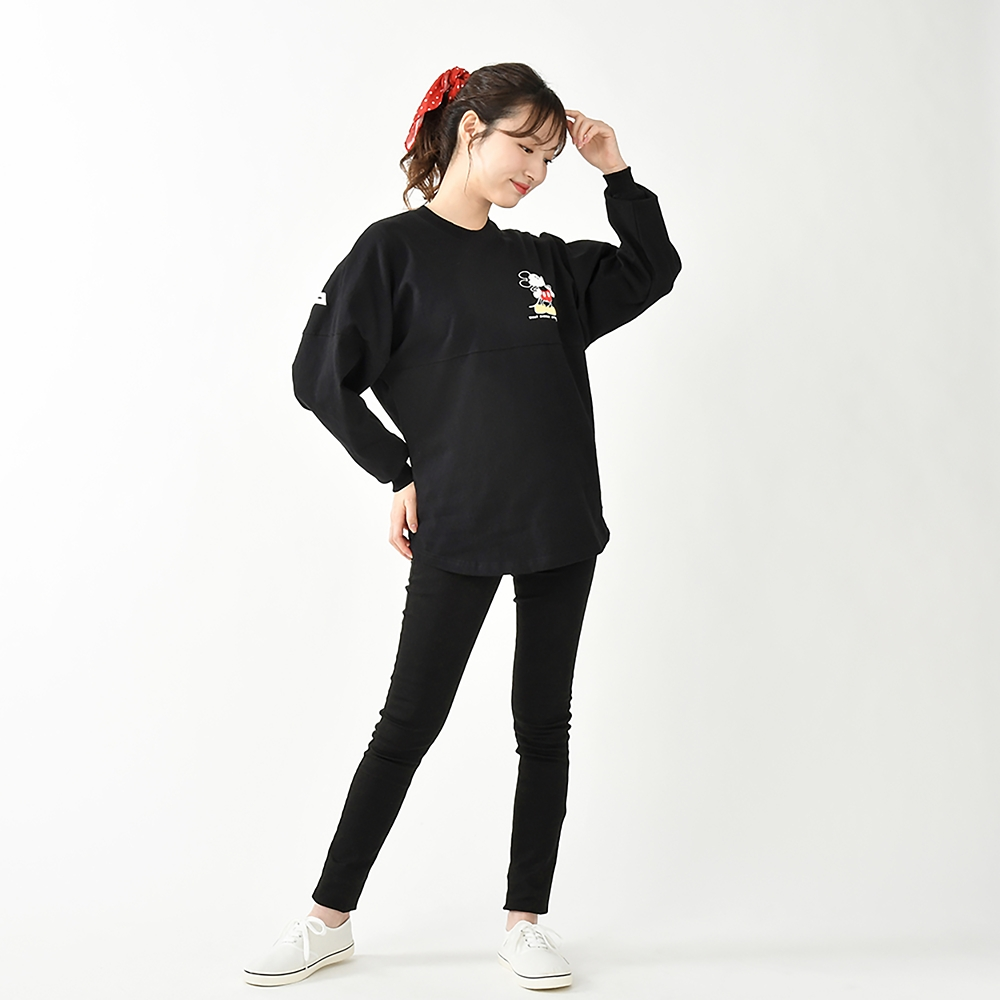 【Spirit Jersey】ミッキー 長袖Tシャツ(L) ウォルト・ディズニー・スタジオ