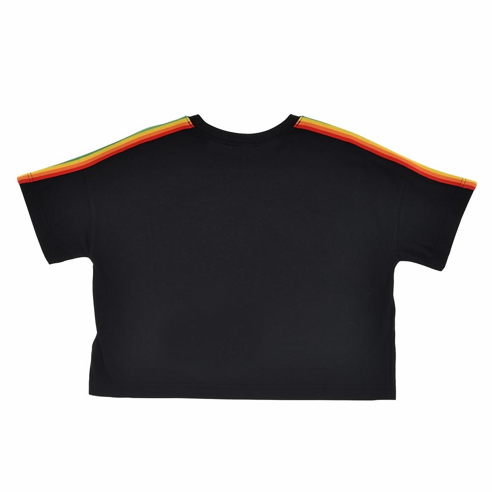 ミッキー 半袖Tシャツ レインボー