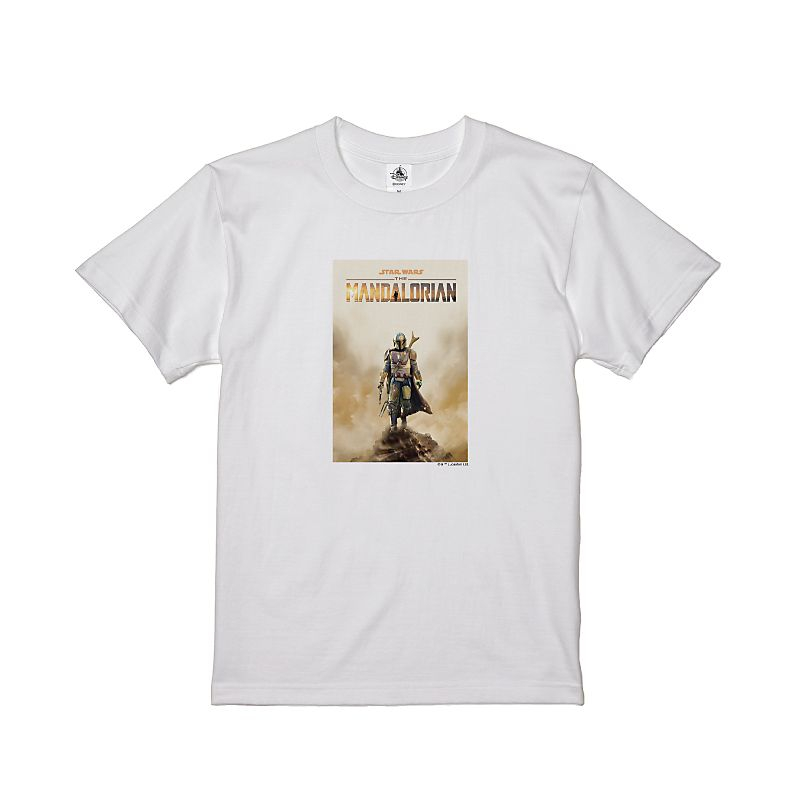 【D-Made】Tシャツ キッズ 『マンダロリアン』ポスター2