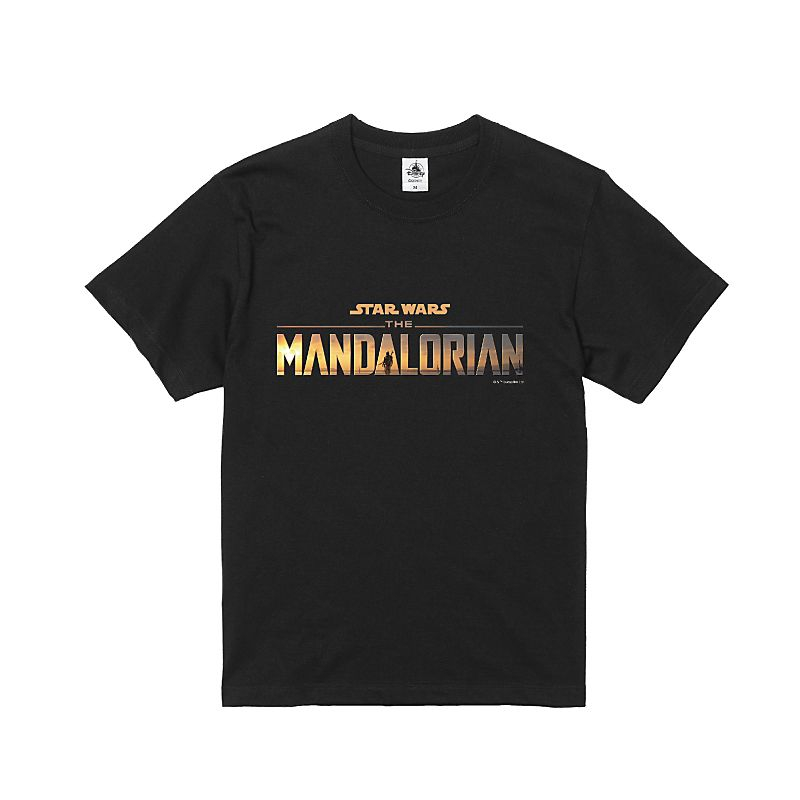 【D-Made】Tシャツ 『マンダロリアン』ロゴ