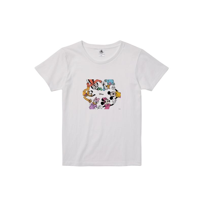 【D-Made】Tシャツ レディース ミッキー&フレンズ