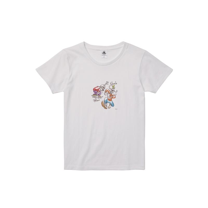 【D-Made】Tシャツ レディース グーフィー&マックス