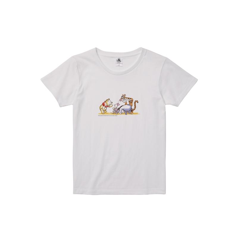 【D-Made】Tシャツ レディース プー&フレンズ