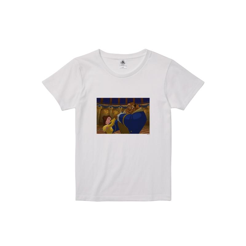【D-Made】Tシャツ レディース 映画『美女と野獣』