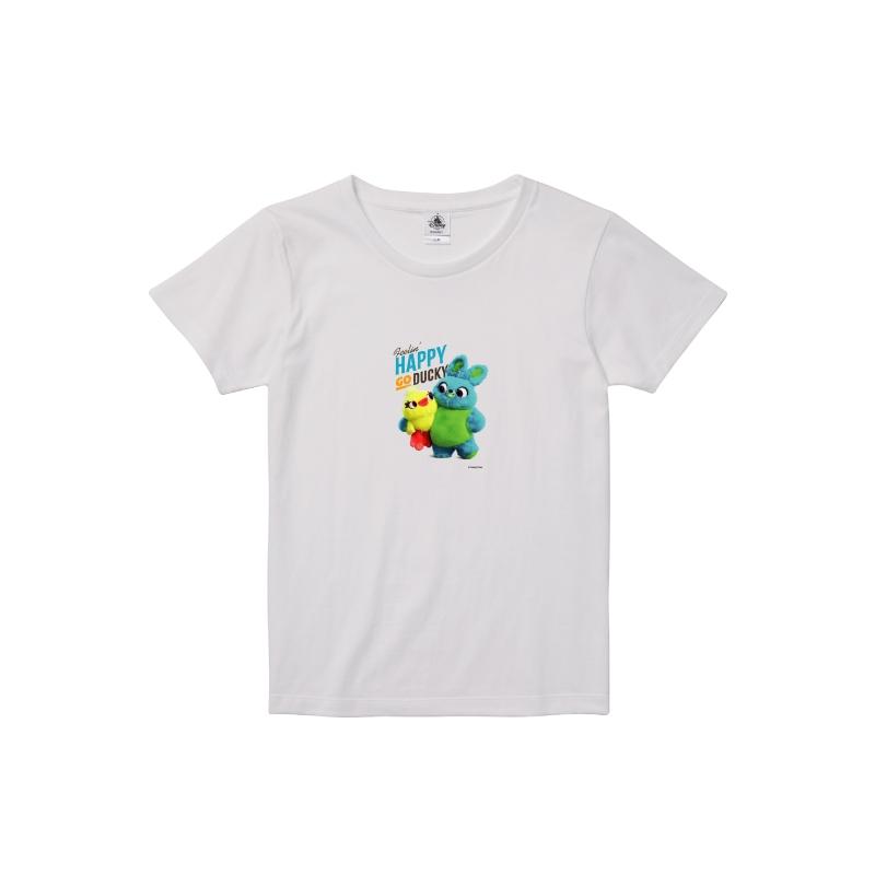 【D-Made】Tシャツ レディース ダッキー&バニー