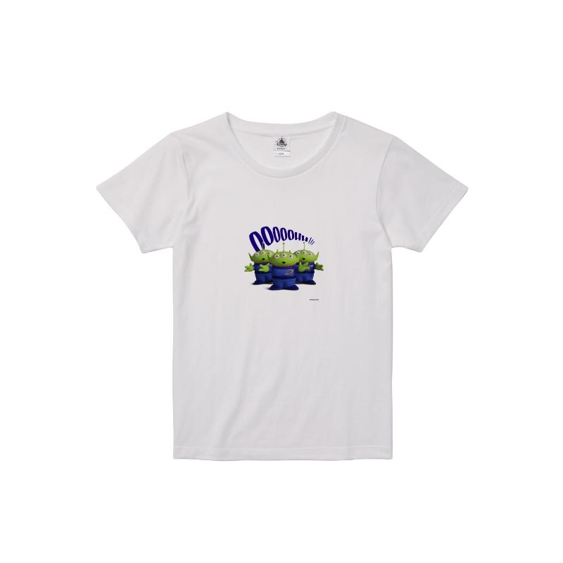 【D-Made】Tシャツ レディース リトル・グリーン・メン/エイリアン