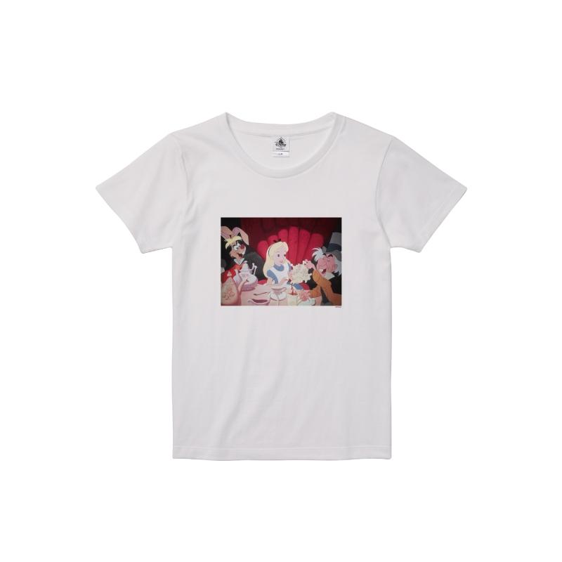 【D-Made】Tシャツ レディース 映画『ふしぎの国のアリス』