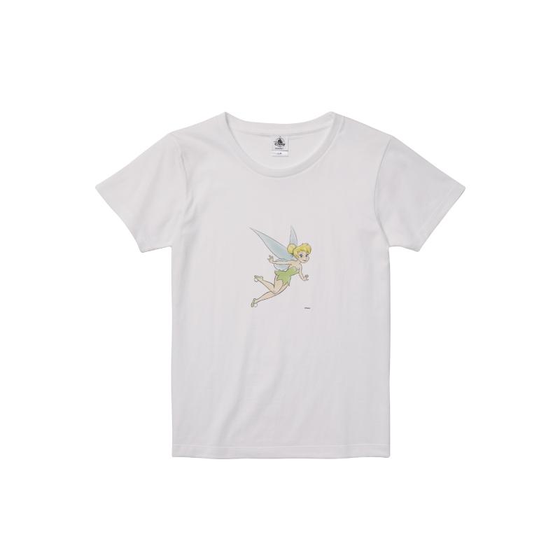 【D-Made】Tシャツ レディース ティンカー・ベル