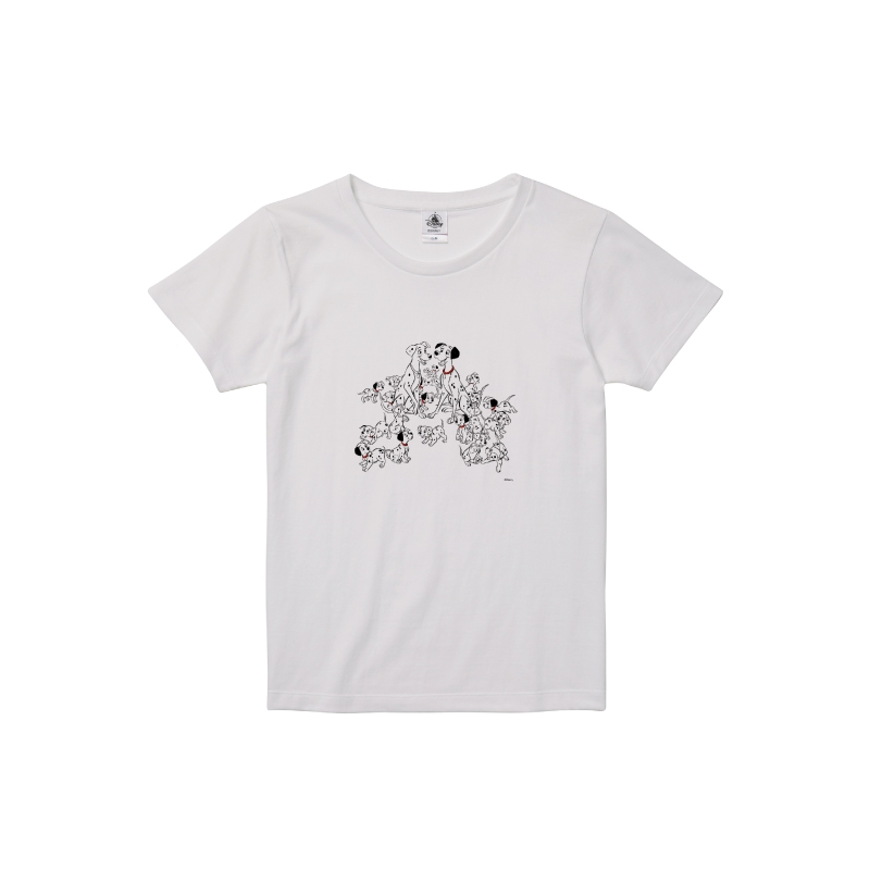 【D-Made】Tシャツ レディース 101匹わんちゃん