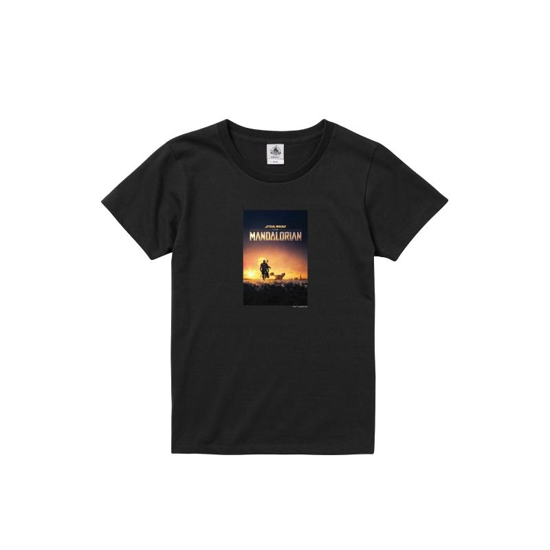 【D-Made】Tシャツ レディース 『マンダロリアン』ポスター1