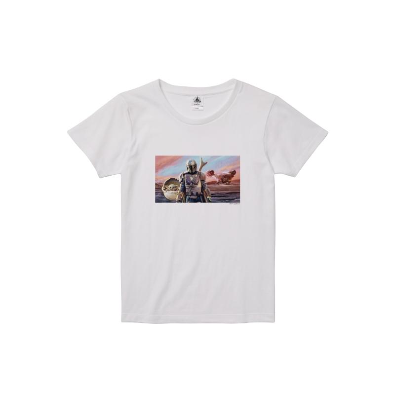【D-Made】Tシャツ レディース 『マンダロリアン』集合