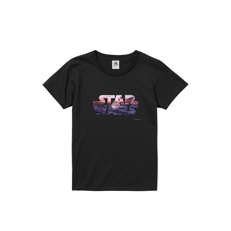 【D-Made】Tシャツ レディース STARWARSロゴ