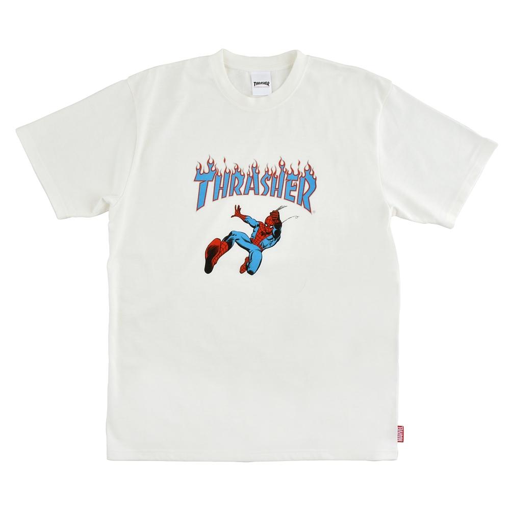 【送料無料】【THRASHER】マーベル スパイダーマン 半袖Tシャツ