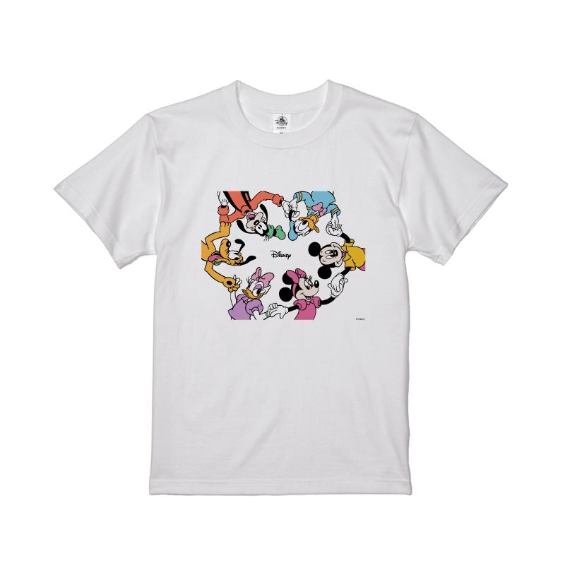 【D-Made】Tシャツ メンズ ミッキー&フレンズ