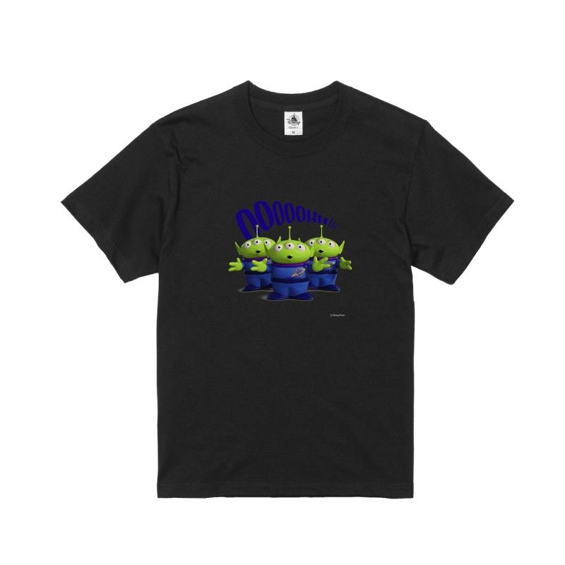 【D-Made】Tシャツ メンズ リトル・グリーン・メン/エイリアン