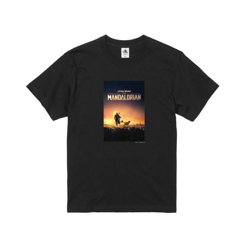 【D-Made】Tシャツ メンズ 『マンダロリアン』ポスター1