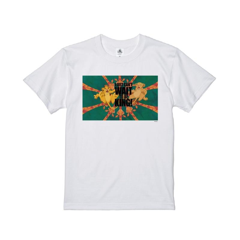 【D-Made】Tシャツ ライオンキング シンバ&ナラ